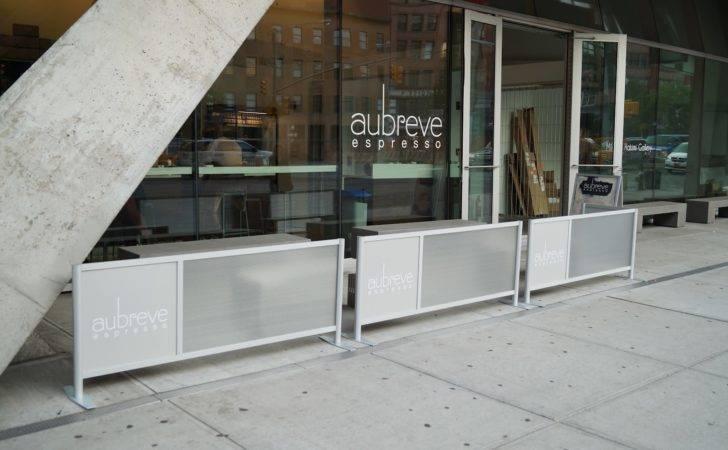 Restaurant Barriers Outdoor Cafe
