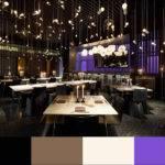 Restaurant Interior Design Color Schemes Bei Main Dining Area