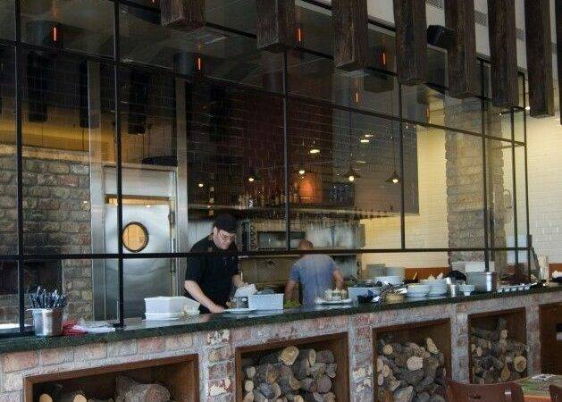 Restaurant Kitchen Design Interior