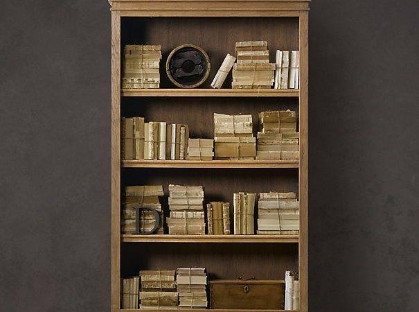 Restoration Hardware French Casement Bookcases