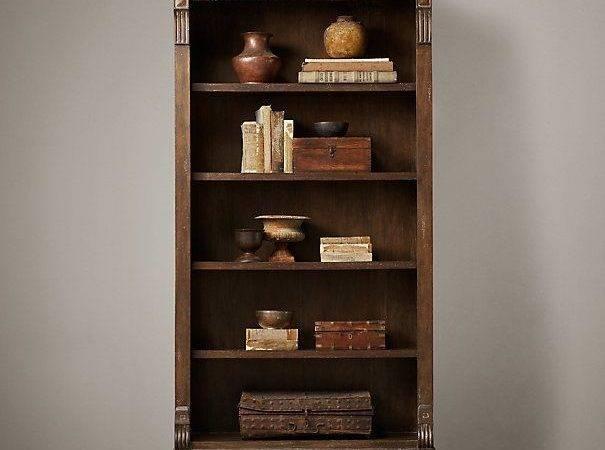 Restoration Hardware James Bookcase High