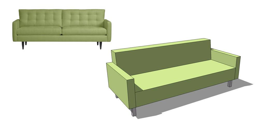 Retired Sketchup Blog Nerdiest Sofa Shopping Tool Ever