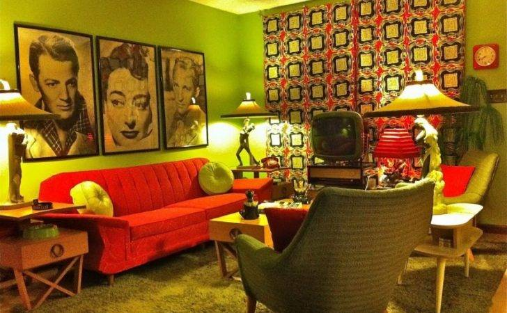 Retro Interior Design Ideas Your Hip Living Room