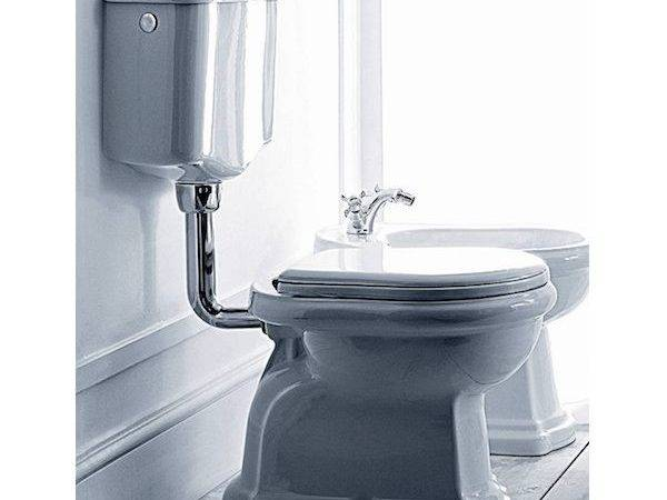 Retro Low Level Toilet Traditional Bathrooms Old Fashioned