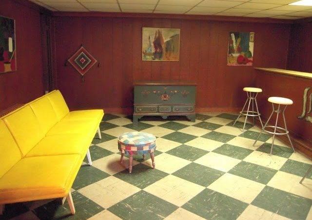 Retro Original Cor Basement Petersburg Virginia Home House