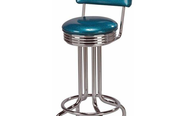 Retro Soda Fountain Metal Counter Stool Bar Stools