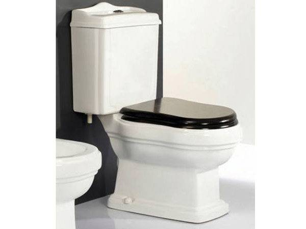 Retro Toilet Interior Motives