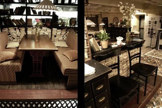 Retro Vintage Cafe Interior Decorating Ideas Studio Balenko