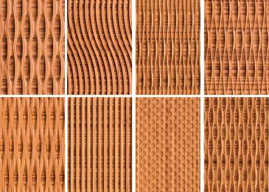 Reveal Collection Carved Textured Bamboo Wall Panels