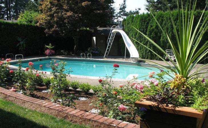 River Pools Residential Well Inground Swimming Pool Landscaping
