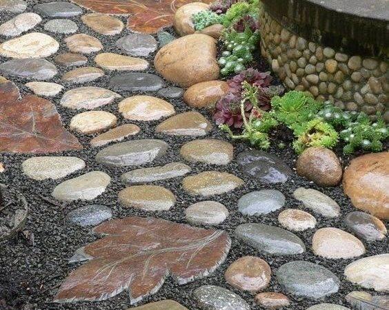 River Rock Garden Ideas Beautiful Diy Designs
