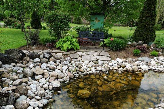 River Rock Landscaping Ideas Design Decoration