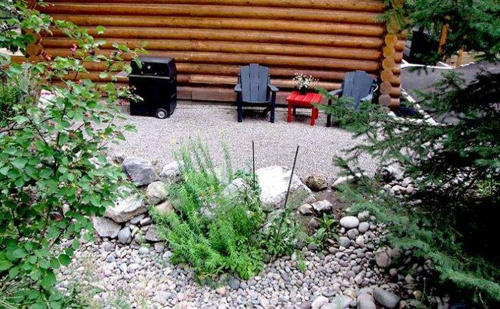 River Rocks Landscaping Ideas Pinterest
