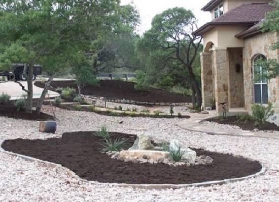 River Stone Landscaping Ideas Using Rocks