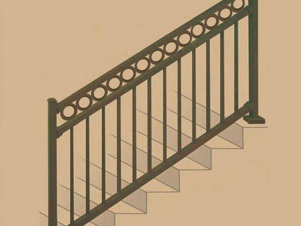 Riviera Aluminum Stair Rail Section Kits Westbury