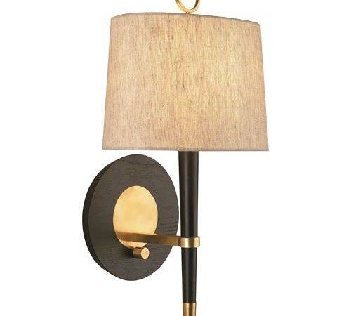 Robert Abbey Jonathan Adler Ventana Light Wall Sconce Antique