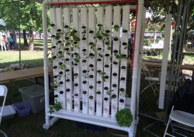 Robotic Vertical Garden Can Build Hardware Store Materials