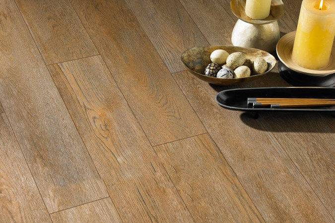 Roca Habitat Sapeli Wood Effect Porcelain Floor Tiles