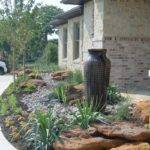Rock Boulder Landscaping Back Yard Xeriscape Design Ideas