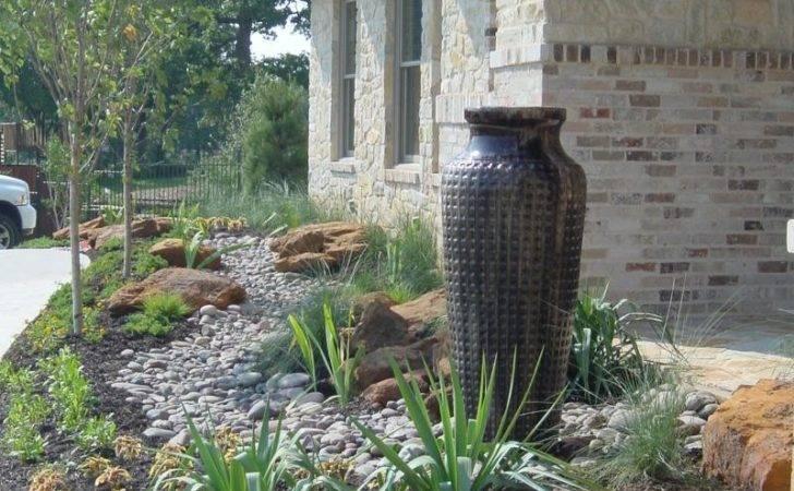 Rock Boulder Landscaping Back Yard Xeriscape Design Ideas