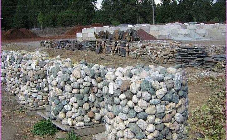 Rock Landscaping Ideas River