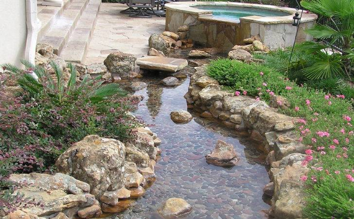 Rock Landscaping Outdoor Building Interesting Backyard