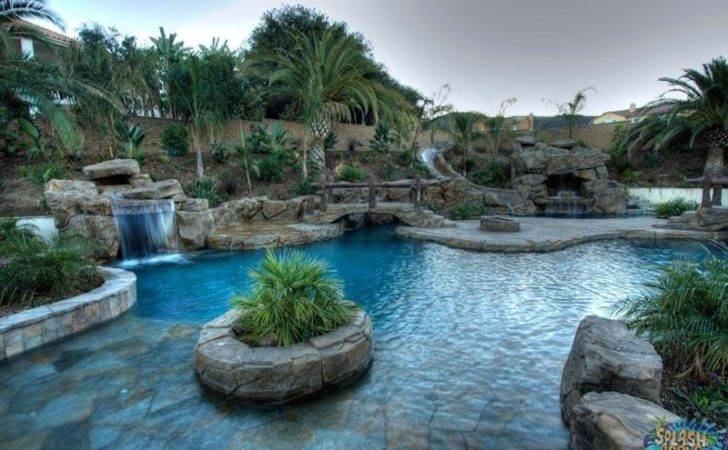 Rock Pool Splash Pools Construction Chino