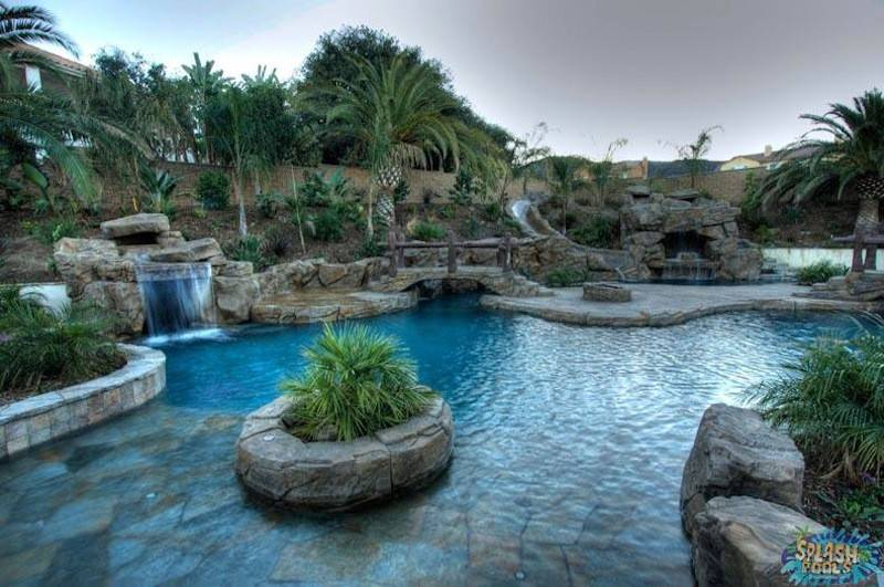 Rock Pool Splash Pools Construction Chino
