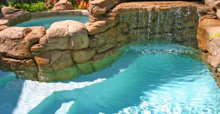 Rock Swimming Pool Design Ideas Mini Grotto Spa