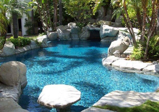 Rock Swimming Pool Design Ideas Simple Natural