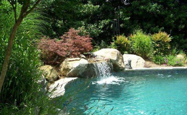 Rock Swimming Pool Design Ideas Trend Natural