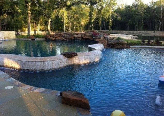 Rock Swimming Pool Design Ideas Tropical Natural