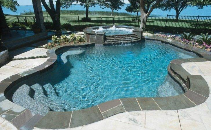 Rock Swimming Pool Design Ideas Warm Natural