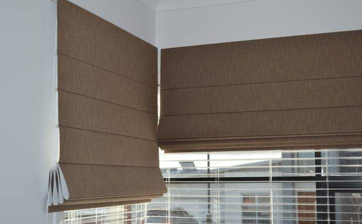 Roman Blinds Suitable Corner Windows