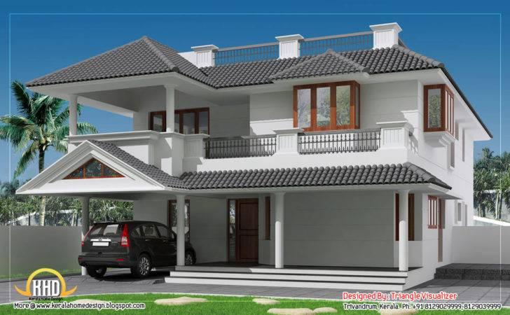 Roof House Cellar Floor Kerala Home Design