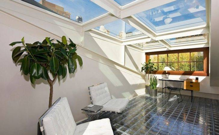 Roof Into One Large Skylight Design Michael Haverland Architect