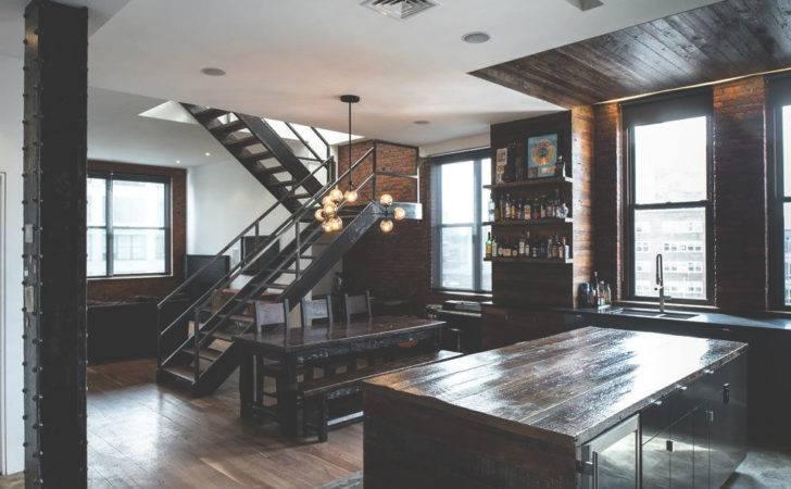 Room Bedroom Design Home Luxury City Rustic Architecture New York