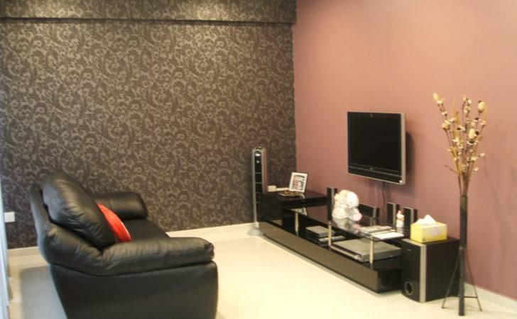 Room Colors Salem Wall Paint Gray Black Leather Sofa Living