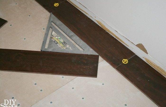 Room Herringbone Pattern Tile Floor Details Start