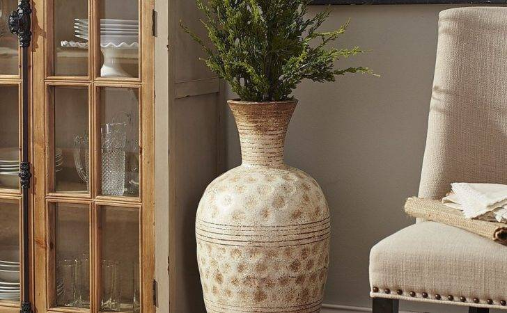Room Vase Greek Geometric Design Olpe Shaped Floor