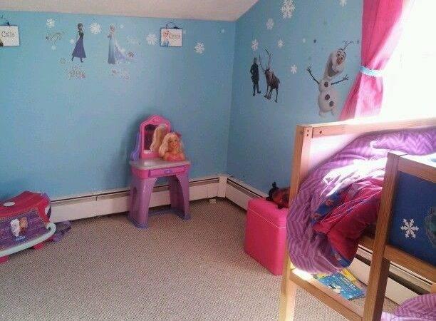 Rooms Frozen Bedrooms Themed Abbie
