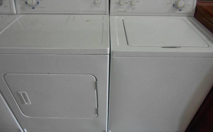Roper Washer Dryer Set White Color Tax