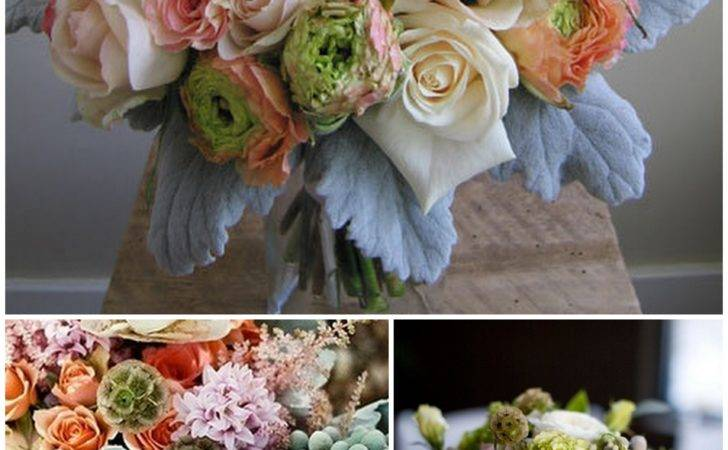 Rose Hydrangea Brunia Berry Wedding Bouquets Floret Cadet