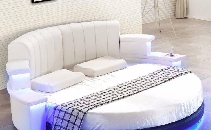 Round Bed Design Decoration