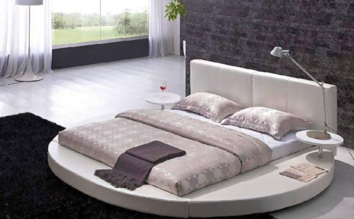 Round Bed Designs Double Flower