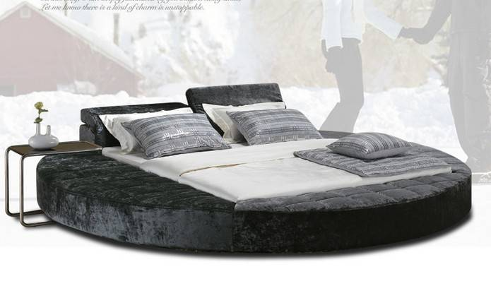 Round Bed Frame Modern Adult Buy