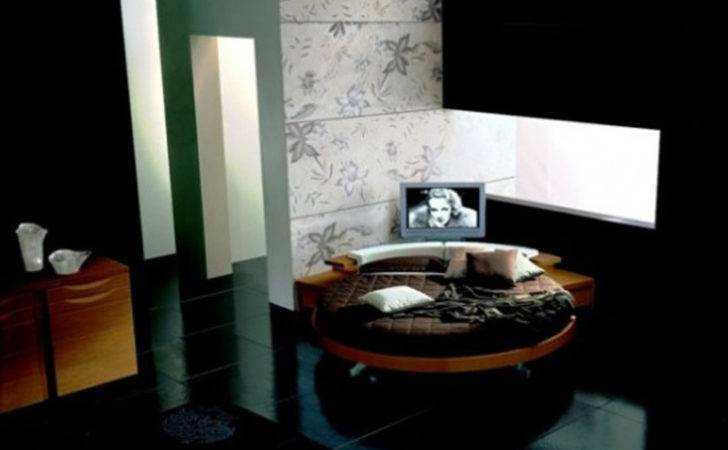 Round Bed Furniture One Total Photographs Modern
