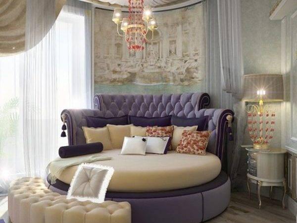 Round Beds Pinterest