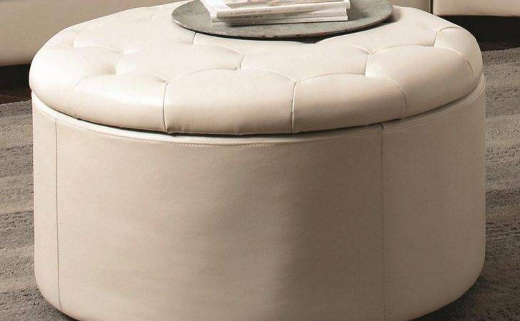 Round Coffee Table Ottoman Diy