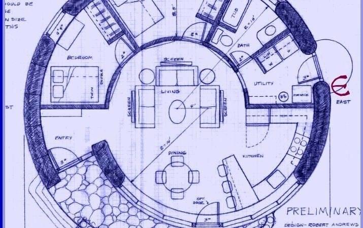 Round House Plans Cob Earthbag Rocket Heater